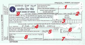 how to write a check for cash withdrawal