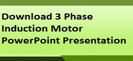 Download 3 Phase Induction Motor PowerPoint Presentation