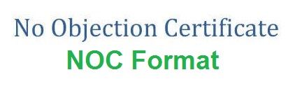 Format of NOC Certificate for Training- Complete Details