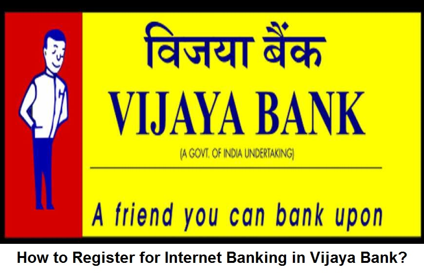 how to start net banking vijaya bank online