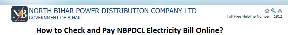 How To Check And Pay Nbpdcl Electricity Bill Online