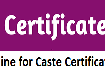 How to Apply Online for Caste Certificate in Rajasthan?