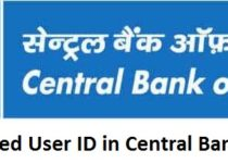 Set Preferred User ID in Central Bank of India
