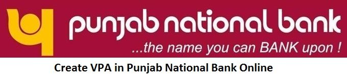 Create VPA in Punjab National Bank Online