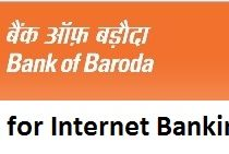 How to Register Online for Internet Banking in Bank of Baroda?