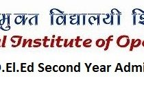 Check NIOS D.El.Ed Second Year Admission Status