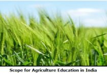 Scope for Agriculture Education in India