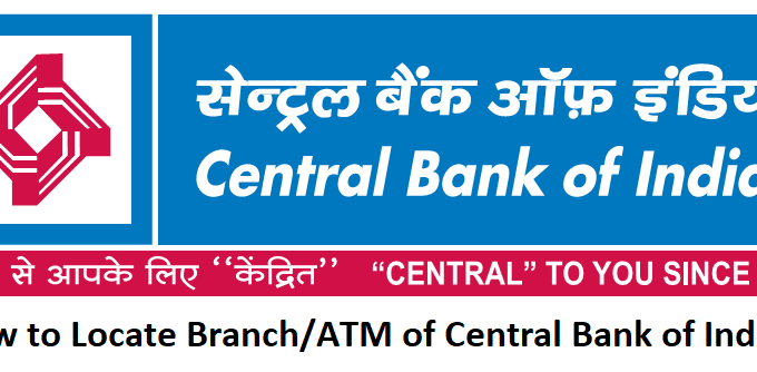 How to Locate Branch/ATM of Central Bank of India?
