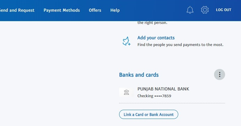 how to remove a bank account on paypal